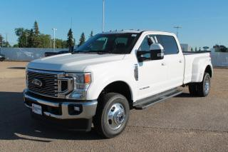 New 2020 Ford F-350 Super Duty DRW LARIAT 628A 4X4 CrewCab 6.7L V8 Diesel with Pre-Collision Assist, Reverse Camera System, Reverse Sensing System, and Trailer Tow Package for sale in Edmonton, AB