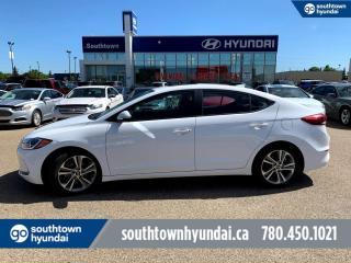 Used 2017 Hyundai Elantra GLS/SUNROOF/BLIND SPOT/BACK UP CAMERA for sale in Edmonton, AB