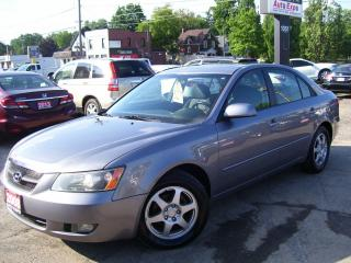 Used 2008 Hyundai Sonata GLS,AUTO,A/C,KEY LESS,ALLOYS,CERTIFIED,SUN ROOF, for sale in Kitchener, ON