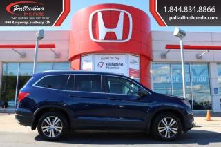 Used 2017 Honda Pilot EX-L-CERTIFIED-AW-LOADED for sale in Sudbury, ON
