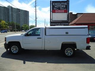 Used 2014 Chevrolet Silverado 1500 Work Truck w/2WT/ BLUETOOTH./AC / LEER CAP / MINT for sale in Scarborough, ON
