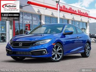 New 2020 Honda Civic COUPE Touring for sale in Sudbury, ON