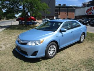 Used 2012 Toyota Camry LE ~ HYBRID ~ ACCIDENT FREE for sale in Toronto, ON
