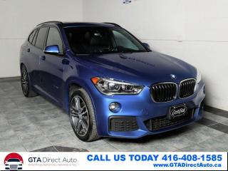 Used 2017 BMW X1 xDrive28i M-SPORT Estorial HUD Nav Pano Certified for sale in Toronto, ON