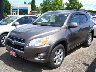 Used 2009 Toyota RAV4 LIMITED,AWD,ONE OWNER,CERTIFIED,SUNROOF,FOG LIGHTS for sale in Kitchener, ON