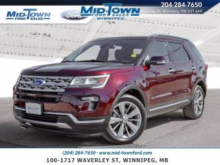 Used 2018 Ford Explorer Limited 4WD for sale in Winnipeg, MB