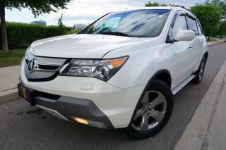 Used 2008 Acura MDX ELITE / 1 OWNER / STUNNING COMBO / 7 PASS / DVD for sale in Etobicoke, ON