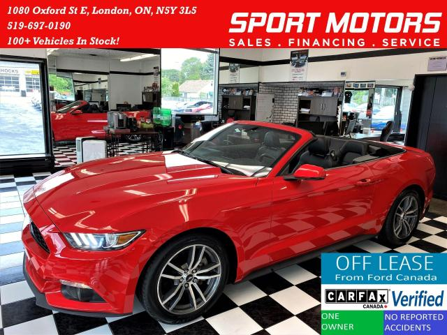 2015 Ford Mustang Premium+Camera+CooledSeats+New Tires+Accident Free