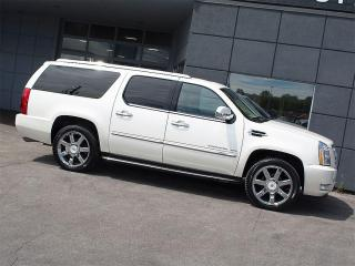 Used 2012 Cadillac Escalade ESV ESV|NAVI|DUAL DVD|REARCAM|VENT SEATS|8 PASSENGERS for sale in Toronto, ON