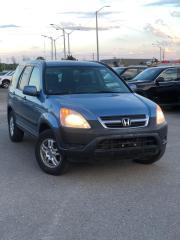 Used 2002 Honda CR-V EX for sale in Oakville, ON