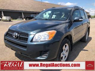 Used 2012 Toyota RAV4 Base 4D Utility 4WD 2.5L for sale in Calgary, AB