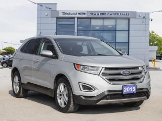 Used 2015 Ford Edge SEL Low KM | Htd Lthr | Remote Start for sale in Winnipeg, MB