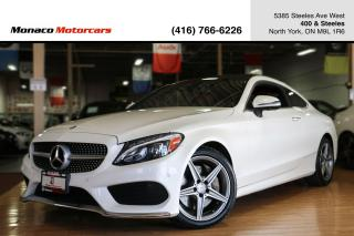 Used 2017 Mercedes-Benz C-Class C300 4MATIC - AMG|PANO|NAVI|360CAM|BLINDSPOT for sale in North York, ON