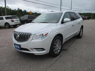 Used 2016 Buick Enclave Leather for sale in North Bay, ON