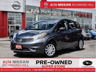 Used 2016 Nissan Versa Note SV   Heated Seats   Back-UP CAM   Keyless Entry for sale in Richmond Hill, ON