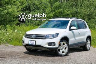 Used 2016 Volkswagen Tiguan 2.0T COMFORTLINE 4MOTION