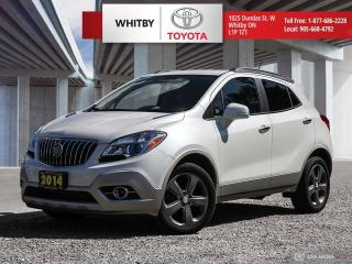 Used 2014 Buick Encore Leather for sale in Whitby, ON