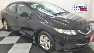 Used 2015 Honda Civic SEDAN LX for sale in Cornwall, ON