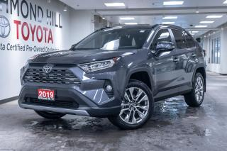 Used 2019 Toyota RAV4 AWD LTD  - Leather Seats -  Sunroof - $149.18 /Wk for sale in Richmond Hill, ON