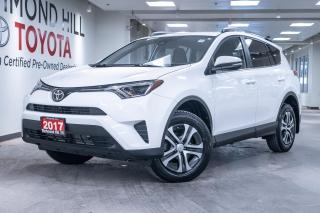 Used 2017 Toyota RAV4 4DR FWD LE for sale in Richmond Hill, ON