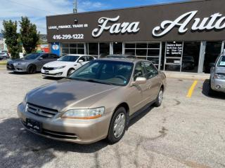 Used 2001 Honda Accord LX AUTO for sale in Scarborough, ON