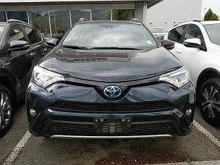 Used 2017 Toyota RAV4 Hybrid SE, Nav, Leather, One Owner, Service History! for sale in North Vancouver, BC