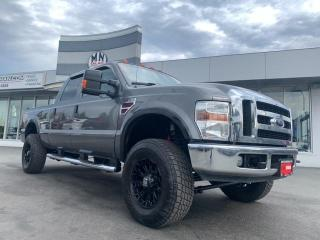Used 2008 Ford F-350 Lariat FX4 4WD DIESEL NAVI SUNROOF LIFTED TUNED for sale in Langley, BC