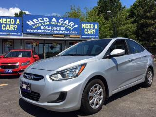 Used 2013 Hyundai Accent L for sale in Oshwa, ON