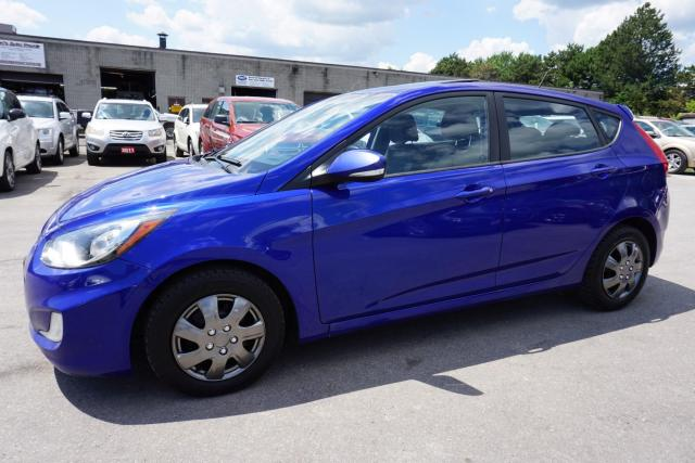 2013 Hyundai Accent GLS CERTIFIED 2YR WARRANTY *1 OWNER* SUNROOF BLUETOOTH HEATED SEATS CRUISE