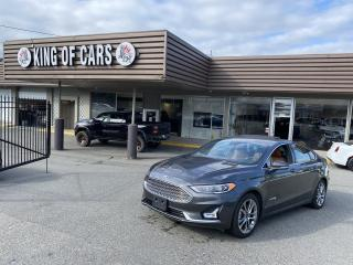 Used 2019 Ford Fusion Hybrid Titanium WITH AUTONOMOUS BRAKING for sale in Langley, BC