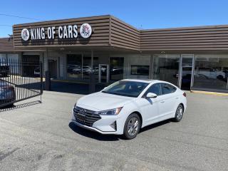 Used 2020 Hyundai Elantra SUNROOF WITH AUTONOMOUS BRAKING for sale in Langley, BC