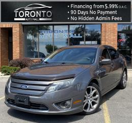 Used 2012 Ford Fusion SEL AWD Sunroof Leather Heated Seats Remote Start Back-Up Sensors for sale in North York, ON