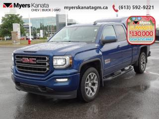 Used 2017 GMC Sierra 1500 SLE  EXT CAB - CAP - ONE OWNER for sale in Kanata, ON