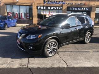 Used 2016 Nissan Rogue AWD 4dr SL-NAVIGATION-SUNROOF-ROCKFORD FOSGATE for sale in North York, ON