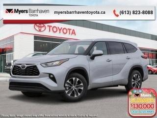 New 2020 Toyota Highlander XLE  - Power Moonroof -  Power Liftgate - $332 B/W for sale in Ottawa, ON
