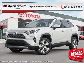 New 2020 Toyota RAV4 Hybrid Limited  - Leather Seats - $311 B/W for sale in Ottawa, ON