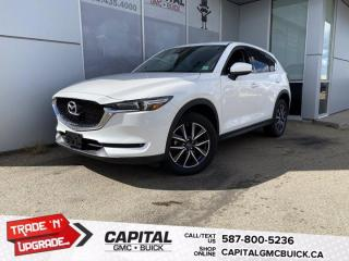Used 2018 Mazda CX-5 GT AWD SUNROOF HTD LEATHER & STEERING  NAV for sale in Edmonton, AB