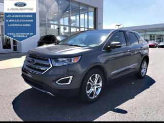 Used 2016 Ford Edge Titanium AWD CUIR TOIT NAv for sale in Victoriaville, QC