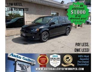 Used 2019 Dodge Grand Caravan GT *B.cam/Htd seat/R. air/Nav for sale in Winnipeg, MB