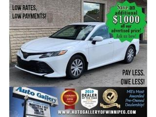 Used 2019 Toyota Camry LE * LOW KMS/Lane Departure/BLUETOOTH for sale in Winnipeg, MB