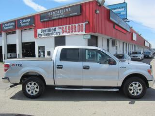 Used 2013 Ford F-150 XLT $12,995+HST+LIC FEE / CLEAN CARFAX / CERTIFIED / TANOUE COVER for sale in North York, ON
