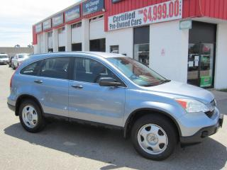 Used 2009 Honda CR-V lx $8,595+HST+LIC FEE / CLEAN CARFAX / CERTIFIED for sale in North York, ON