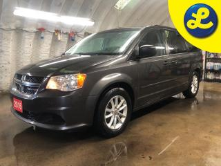 Used 2016 Dodge Grand Caravan SXT PLUS STOW N GO * 2nd-row o/h 9-inch VGA video screen with remote * Power second-row windows Power 3rd-row quarter-vented windows Power windows w/f for sale in Cambridge, ON