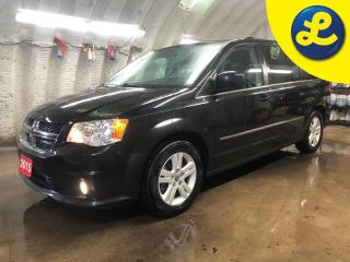 Used 2015 Dodge Grand Caravan CREW PLUS * Garmin Navigation * Leather Trimmed Bucket Seats * 2 Sets of tires included summers on alloy rims winters on steel rims * Stow N Go seati for sale in Cambridge, ON