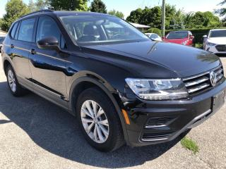 Used 2019 Volkswagen Tiguan Trendline AWD with BackupCam, 8 Speed Auto, Bluetooth, Pwr Windows, Keyless Entry, Alloy Wheelssnd More! for sale in Kemptville, ON