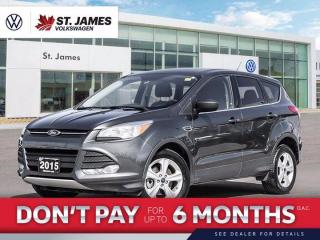 Used 2015 Ford Escape SE, Bluetooth, Heated Seats for sale in Winnipeg, MB