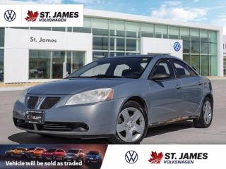 Used 2007 Pontiac G6 SE ***AS-TRADED*** for sale in Winnipeg, MB