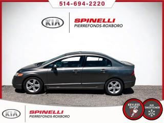 Used 2008 Honda Civic DX-G BAS MILEAGE / DEMARREURE for sale in Montréal, QC