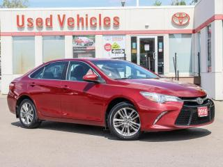 Used 2016 Toyota Camry SE ALLOYS LEATHER-TRIM-SEATS SPOILER CAMERA H-SEAT for sale in North York, ON