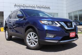 Used 2018 Nissan Rogue SV ONE OWNER ACCIDENT FREE TRADE WITH ONLY 26830 KMS. NISSAN CERTIFIED PREOWNED! for sale in Toronto, ON